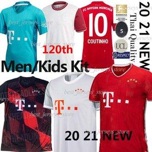 Tailândia COUTINHO 20 uniformes SANE GNABRY Davies jérsei de futebol LEWANDOWSKI HERNANDEZ Futebol 21 Bayern Munique Britische fußballtrikots