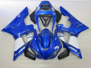 YZF1000 1998 1999 야마하 YZF R1 1998 1999 YZF 1000 98 개 99 블루 바람막이 바디 키트 YAMAHA 페어링이 키트