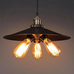 Тройной Урожай Промышленный Edison свет подвеска 3 лампы Подвеска Свет Новый дизайн для гостиной Столоваю кофейной PA0284