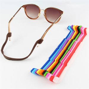 Glasses Strap Parts Silica Gel Non Slip Anti Shedding Elastic Force Sun Glasses Lanyard Flat Eyewear Lanyard Swimming Motion Articles 0 6jx