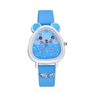 Cartoon children's pupil quartz boys' and girls' watch cute casual waterproof watch