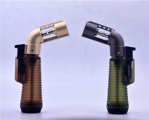 NEW DESGINER сигареты сигары зажигалка 1300 градусов факел Jet Flame бутан многоразового топлива Сварка Пайка TORCH DHL Бесплатная доставка