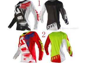 FOX vestito goccia velocità TLD ad asciugatura rapida cime abbigliamento moto a maniche lunghe off-road uomini giacca di mountain bike Jersey