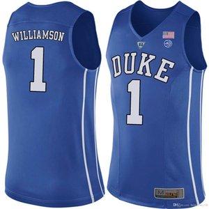 듀크 1 시온 블루 윌리엄슨 악마 대학 NCAA 대학 농구 뉴저지 르브론 (23) 제임스 (13) 강화