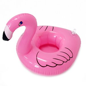 2020 new hot air blowing toy water mobile phone holder water animal cup holder floating beverage cup holder PVC material summer essential to