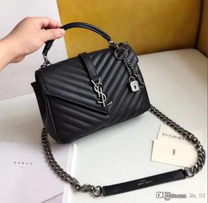 Lusso Classica Borse del progettista delle donne di alta qualità di colori della borsa a tracolla feminina frizione tote borse borsa Messenger Bag con la scatola