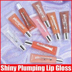 9 Farben Lippen Plumper Makeup Langlebige Big Lip Gloss Moisturizer Pralle Volume Plumping Glänzende Glitter Sexy Öl Lipgloss