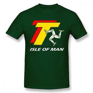 ISLE OF MAN TT تي شيرت للرجال دروبشيبينغ الصيف كم قصير القطن بالاضافة الى حجم مخصص فريق المحملة 4XL 5XL 6XL