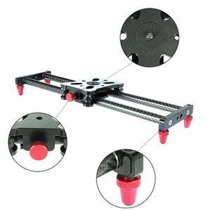 Hot Sale 15.7Inch Carbon Fiber Camera Slider Track with 4 Roller Bearing for Video Movie Making