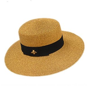 Summer parent-child cap flat cap edge gold silk summer sun flat top British hat sun hat