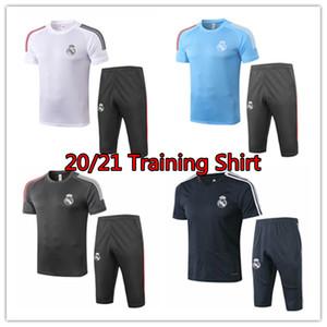 2020 2021 Real Madrid mens camicia di polo Bale RMA tute maniche corte Jersey di calcio pericolo Isco vestito Tshirt Benzema Modric Benzema calcio