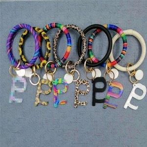 Лифт Кнопка Сафть Key Chain Кольцо держатель PU кожа кисточка Wristlet брелок Браслеты Public Бесконтактная Защитный инструмент браслет E73103