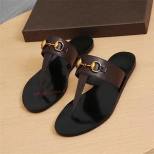 Xshfbcl 2019 Designer shoes Fashion Women Flip Flops Slipper Genuine Leather Slides Girls Sandals Metal Chain Ladies Casual Shoes SZ 36-42