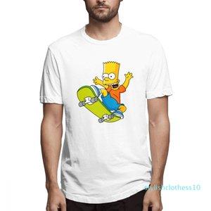 Verano encabeza el diseñador de moda Camisas Simpsons camisas para mujer para hombre de manga corta camisa El c3109s10 Simpsons Impreso T Shirts Causal