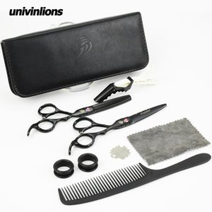 "univinlions 6"" japanese hair scissors barber scissors hairdresser razor hairdressing scissors professional hair cut thin shears LY191231"