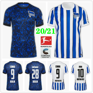 2019 2020 Hertha Hertha fútbol jerseys 7 piątek DUDA LOWEN KALOU Kopke MITTELSTADT TORUNARIGHA personalizada Berlín hogar lejos camiseta de fútbol
