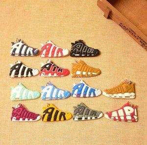 Перейти Оптовых Запуск мини обуви брелока 3D Sneaker Мягких резиновые Мульти Стили Доступный Free Choice Подвеска дизайнер мешок амулеты брелок