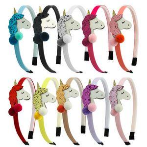 Unicorn Horn Headband Halloween Girls Cat Ear Hair Hoop Cosplay 6 Color Unicorn Horn Headband Halloween Girls tWBlg