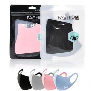Festliche Partei liefert Gesicht Mundabdeckung Festliche Maske Atemschutzmaske Staubdichte Waschbare Wiederverwendbare Eisseide Parteimasken Werkzeuge