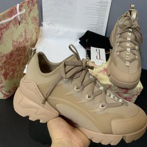 En Yeni Kadın Erkek Günlük Ayakkabılar Sneakers D Bağlan Neopren Grogren Şerit Platformu Ayakkabı Bayan Çiçek Baskılı Sneakers Şeffaf