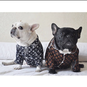 Haustier Hund Tier-Pyjamas Haustier Kleidung Recht Eimer Teddy Corgi Tobago Shiba Inu Netto-Y1 roten Kleid Hemd Haustierbedarf
