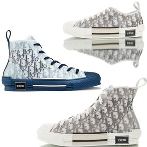 19SS Convers DIOR Oblique Homme X Kaws Par KIM Jones Hommes Femmes Designer Triple S Luxe Casual Chaussures High Top Sneakers Skateboard Chaussures Bottes