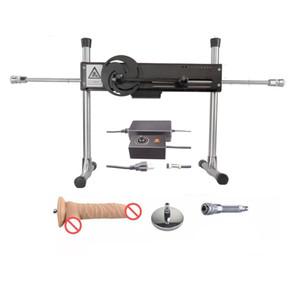 Automatique Sex Machine avec le godemiché Vac-u-Lock Turbo avec Bendable vitesse connecteur d'alimentation cadre en acier solide Intercourse Robot sexuelle Sex Toys