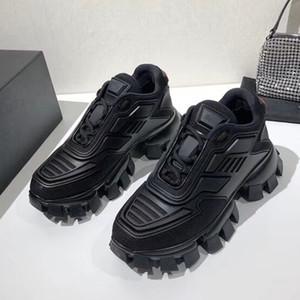 New Cloudbust Donner Turnschuhe für Herren-Frau Plattform Trainer 3D Schuhe Strickware Low Top Light Rubber Outdoor-Schuhe mit Box läuft