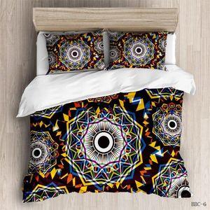Bohemian Uyku Seti Renkli Etnik Vintage Hipster Aztek Pastoral Country Style Nevresim Seti Yetişkinler Mandala Bedspread yqri # için