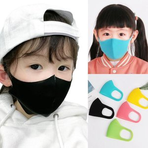 Dust Mask 3pcs set Child Anti Kids Earloop Protective Face Mask Outdoor Cycling Dustproof