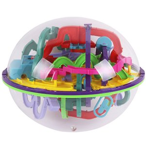 299 level 23cm Biger 3D Magic Maze perplexus magical intellect Ball educational toys Marble Puzzle Game IQ Balance toy065 Y200414