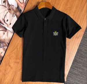 20SS summer new men's stylist embroidered T-shirt polo European American simple women's men's high-end short-sleeved polo shirt B336#