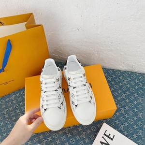 Louis Vuitton Shoes LV llegan TIME OUT las zapatillas de deporte zapatos casuales los hombres de lujo diseñador impresión Calzado zapatos de cuero snerkers