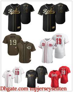 Cincinnati.RotesMänner Frauen Jugend 19 Joey Votto 2020 Authentisches Baseball-Jersey