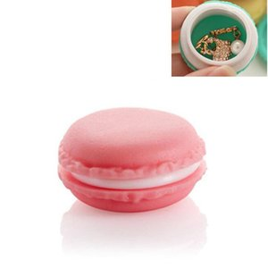 Cute Candy Color Macaron Mini Cosmetic Jewelry Storage Box Jewelry Box Birthday Gift Display Macaron Style Jewelry Boxes ZA2999