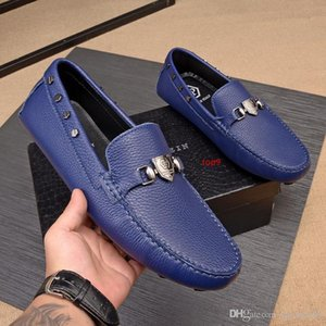 A4 9 style Leather Breathable Leather Shoes 2075 Guan Men Dress Shoes Boots Loafers Drivers Buckles Sneakers Sandals