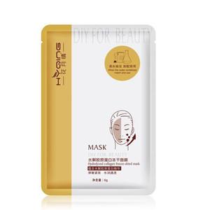 5pcs hydrolysée masque lyophilisé collagène masque d'alimentation en eau intensive Hydratante bricolage délicat pour la beauté mascarilla soins de la peau