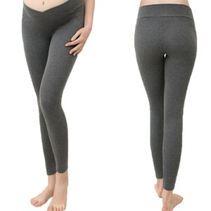 Autumn Maternity Leggings Low Solid Waist Pregnancy Belly Pants For Pregnant Women Maternity Trousers Clothes Leggings