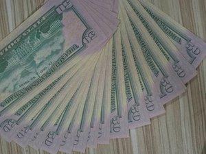 Bar prop finto billette 50 USA dollari falsi riproduzione di un filmato Nightculb soldi del partito dei bambini i giocattoli 100pcs / pack 02