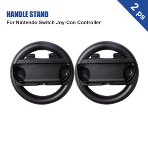 for Nintendo Switch Joy-con Controller 2PCS Joy-con Steering Wheel Handle Stand Holder Handle Bracket Left Right Gamepad Hand Grips
