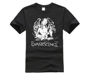 shirt de Hsuail Mens Patch T-shirt d'ange Evanescence toile Phiking concepteur t