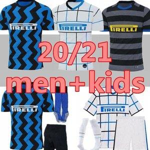 bonne ERIKSEN Inter LAUTARO Škriniar 2020 2021 Milan Football Maillots BARELLA Lukaku 19 20 21 TOP Qualité Football Football inter-shirt Uniforme