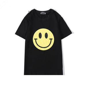 페이스 인쇄 동향 T 셔츠 고품질의 미소 여름 2020 로에베 패션 브랜드 T 셔츠