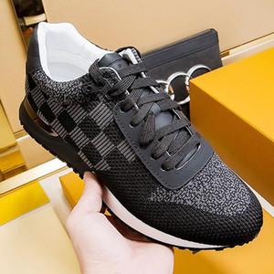 Breathable Männer Schuhe Luxus Zapatos De Hombre Run Away Sneaker Fashion Art Fußbekleidungen Luxussportschuhe mit Kasten Chaussures Gießen Hommes