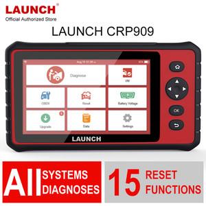 발사 X431 CRP909 와이파이 OBD2 스캐너 전문 전체 시스템 OBD 2 자동차 진단 도구에 대한 ABS DPF EPB TPMS 오일 재설정 PK MK808