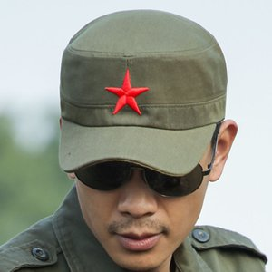 Army Fan Hat Adjustable Cap Breathable Tough Guy Hat Fashion Baseball Cap Mountaineering Outdoor Long Edge Cap