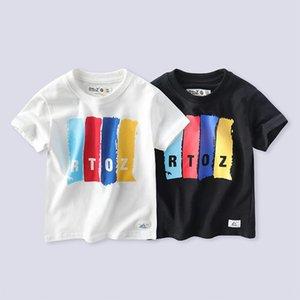 Ropa coreana del verano de manga corta t tong camiseta de la camiseta de los niños especiales de Xu niños