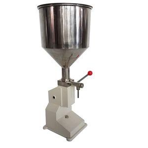 A03 Flaschenfüllmaschine 5-50ml Manuelle Flüssigkeitsfüllmaschine Edelstahlfüllmaschine für Sahne Shampoo Kosmetische Abfüller