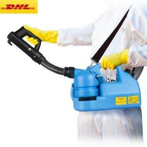 220V portátil / 110V eléctrico ULV Mosquito asesino Desinfección máquina pulverizador atomizador Lucha insecticida ULV Nebulizador frío Fogger máquina 7L