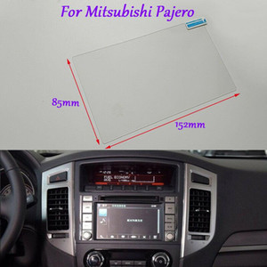 Internal Accessories 7 inch Car GPS Navigation Screen HD Glass Protective Film For Mitsubishi Pajero